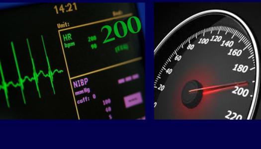 Mandat od kardiologa za nadmierną prędkość?